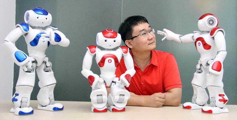 """人工智能机器人""""nao""""的真面目"""