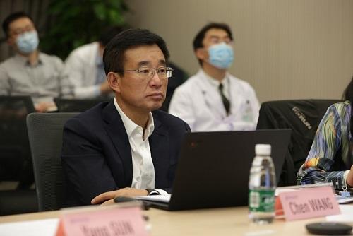 """中国医疗专家""""云援非""""王辰院士向非洲22国医生分享中国抗疫经验"""
