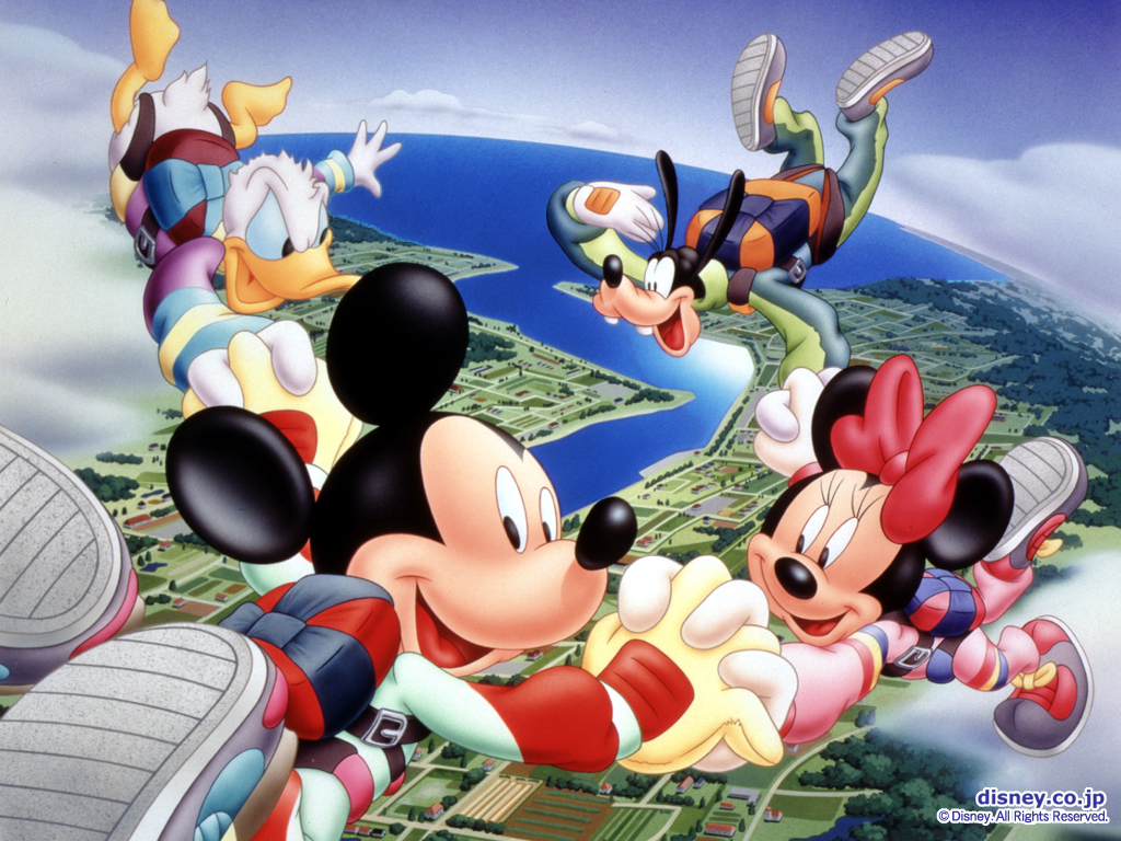 Mickey Mouse Wallpapers 1024 x 768