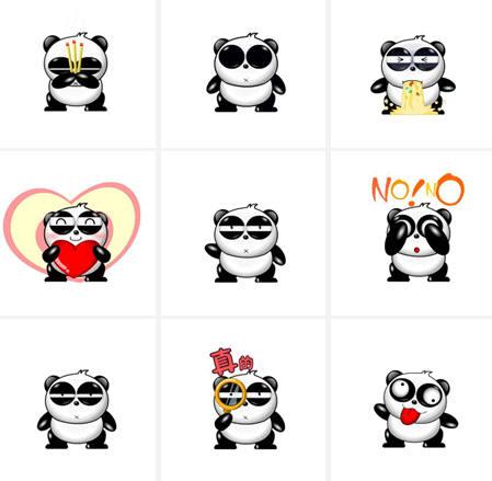 下载:熊猫烧香QQ表情一共28个的女性包表情a表情图片动漫图片
