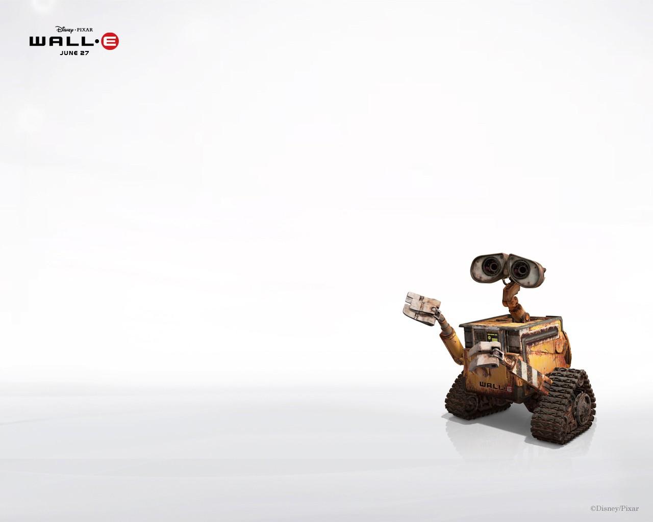 超可爱机器人!wall-e壁纸全欣赏 (6)--it--人民网