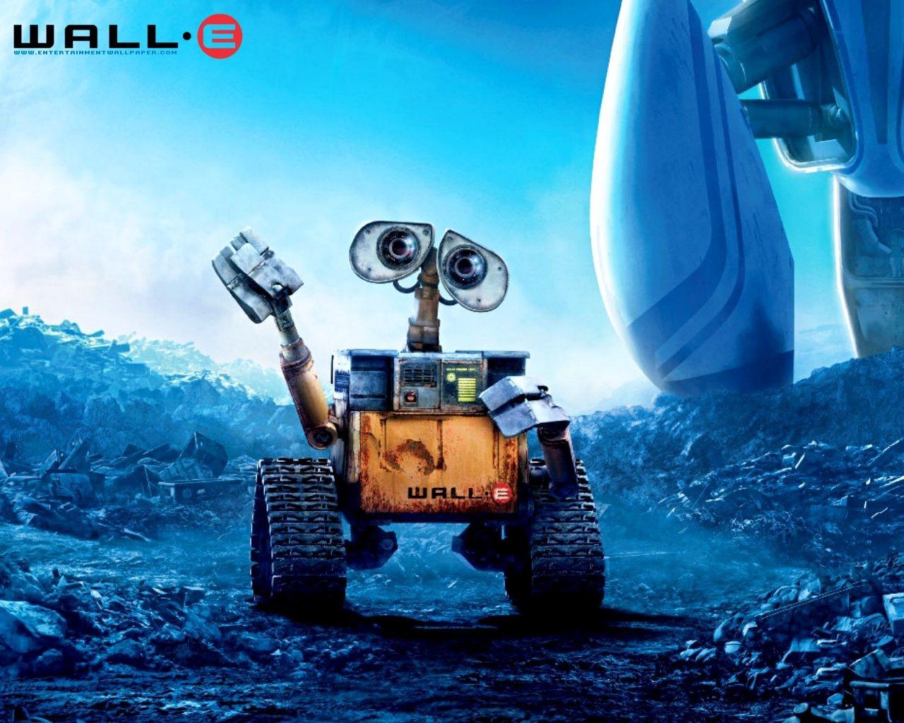 超可爱机器人!wall-e壁纸全欣赏